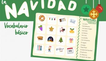 lexico navidad clase de español (ELE)