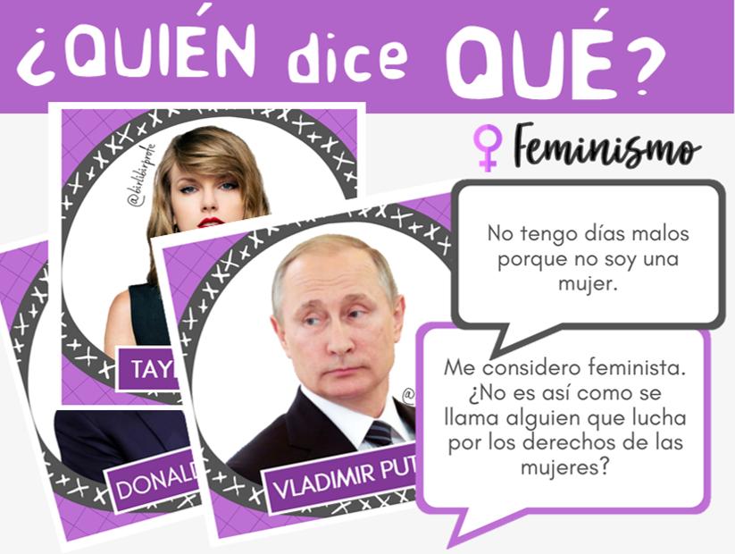 juego feminista clase ELE